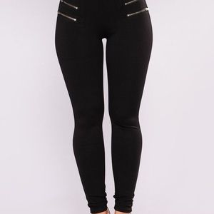 Fashion Nova Ponte Black Pants